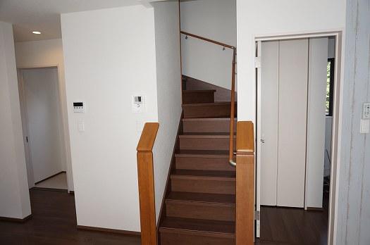 リビングからの階段
