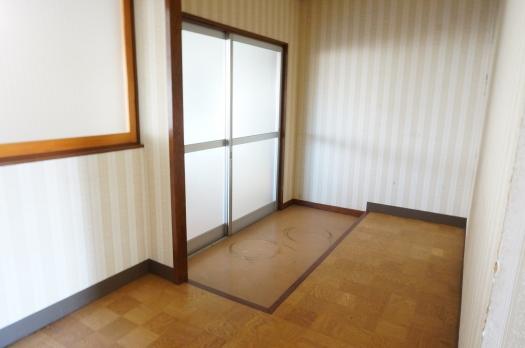 住居部分:玄関