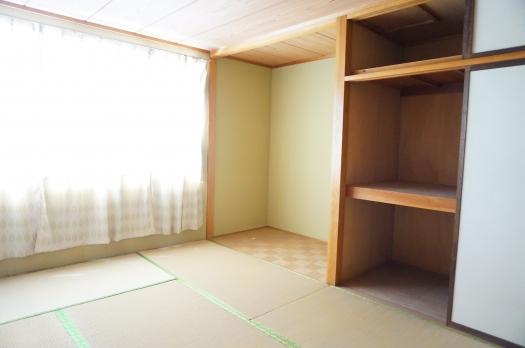 住居部分:和室